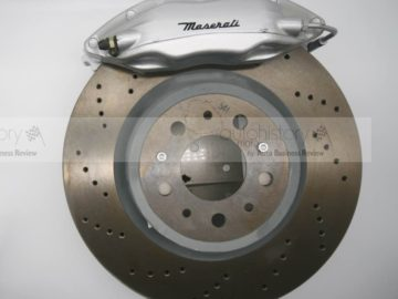 Maserati Disc Brake – SILVER Caliper – NOS New Old Stock