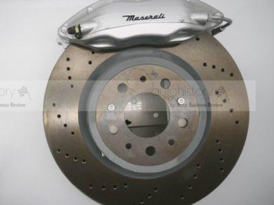 Maserati disc brake (SILVER caliper)