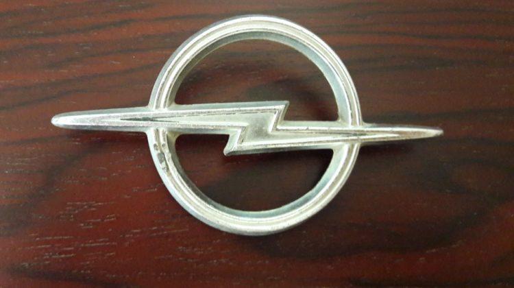 Opel Rekord Sign