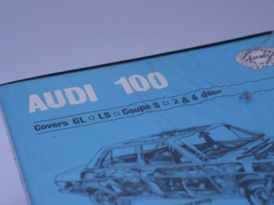 Audi 100 Owner's Workshop Manual