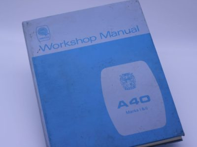 Austin A40 Workshop Manual