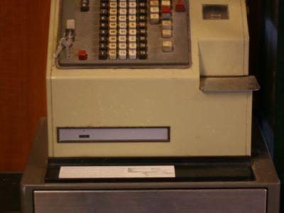TEC BR-2500 Cash Register