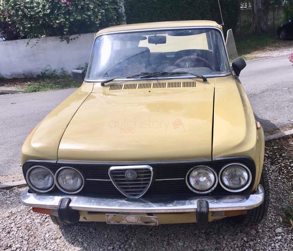 Alfa Romeo Giulia Nuova Super 1,6 (1978)