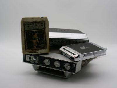 8-track Vintage Car Cassette Player