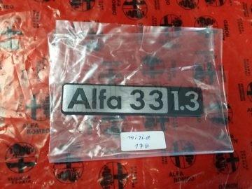 Alfa Romeo Alfa 33 1.3 Badge – NOS New Old Stock