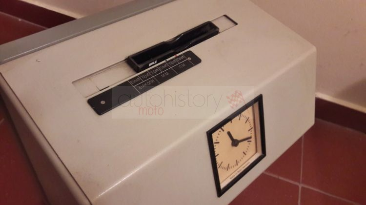 ISGUS Automatic Working Time Recorder