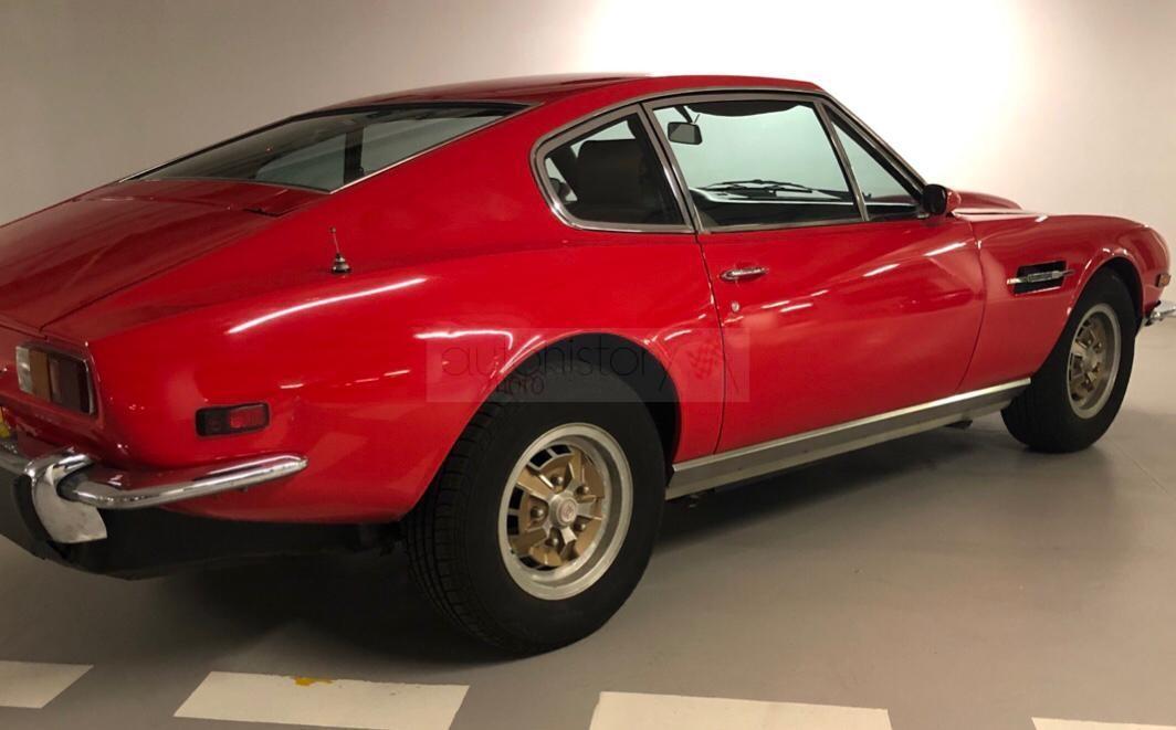 Aston Martin V8 1975 Automotohistory Com