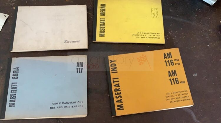 Rare catalogues